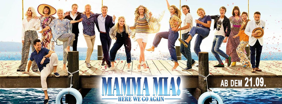 Mamma Mia 2- Here We Go Again